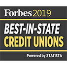 Forbes: Best-In-State Credit Unions - 2019