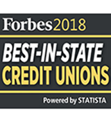 Award: Forbes - Best In State Credit Unions 2018