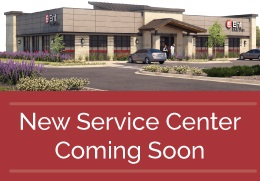 New service center location coming soon.