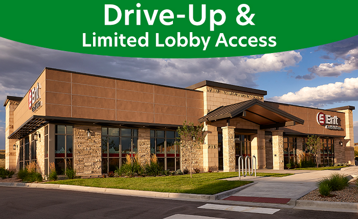 Cottonwood Service Center: Drive-Up and Limited Lobby Access
