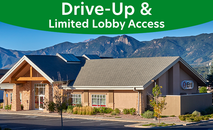 Jackson Creek Service Center: Drive-Up and Limited Lobby Access