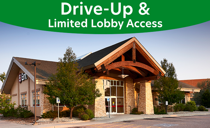 Stetson Hills Service Center: Drive-Up and Limited Lobby Access