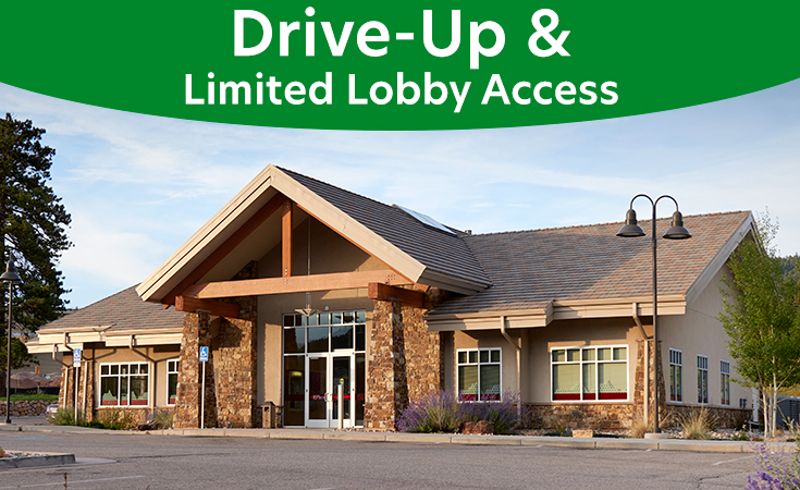 Woodland Park Service Center: Drive-Up and Limited Lobby Access