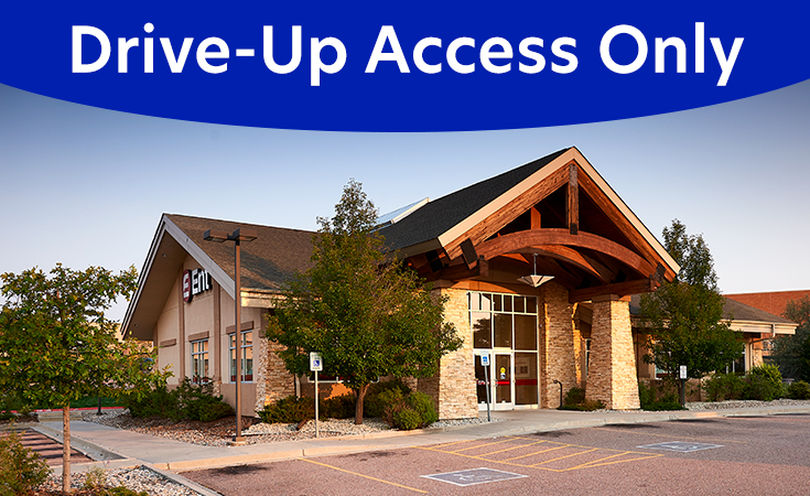 Stetson Hills Service Center Drive-Up Access Only